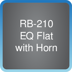 RB-210 EQ Flat with Horn