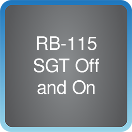 RB-115 SGT Off and On