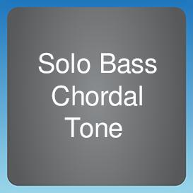 Solo Bass Chordal Tone