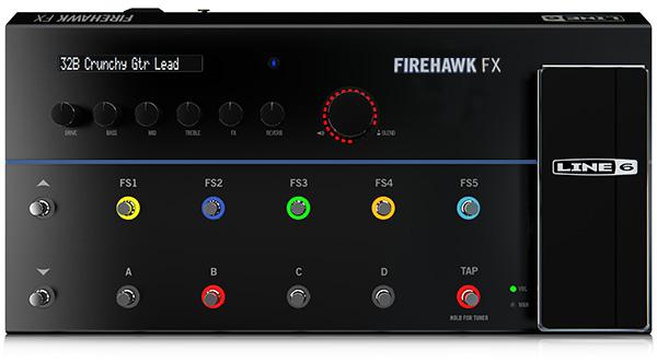 Line 6 Firehawk FX Guitar Multi-effects Floor Processor | Sweetwater