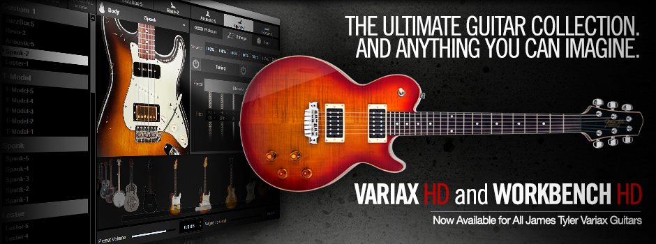 Variax HD Upgrade and Workbench HD Software