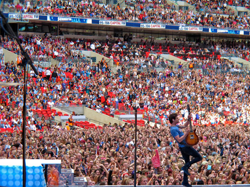 Cory Churko at Wembly