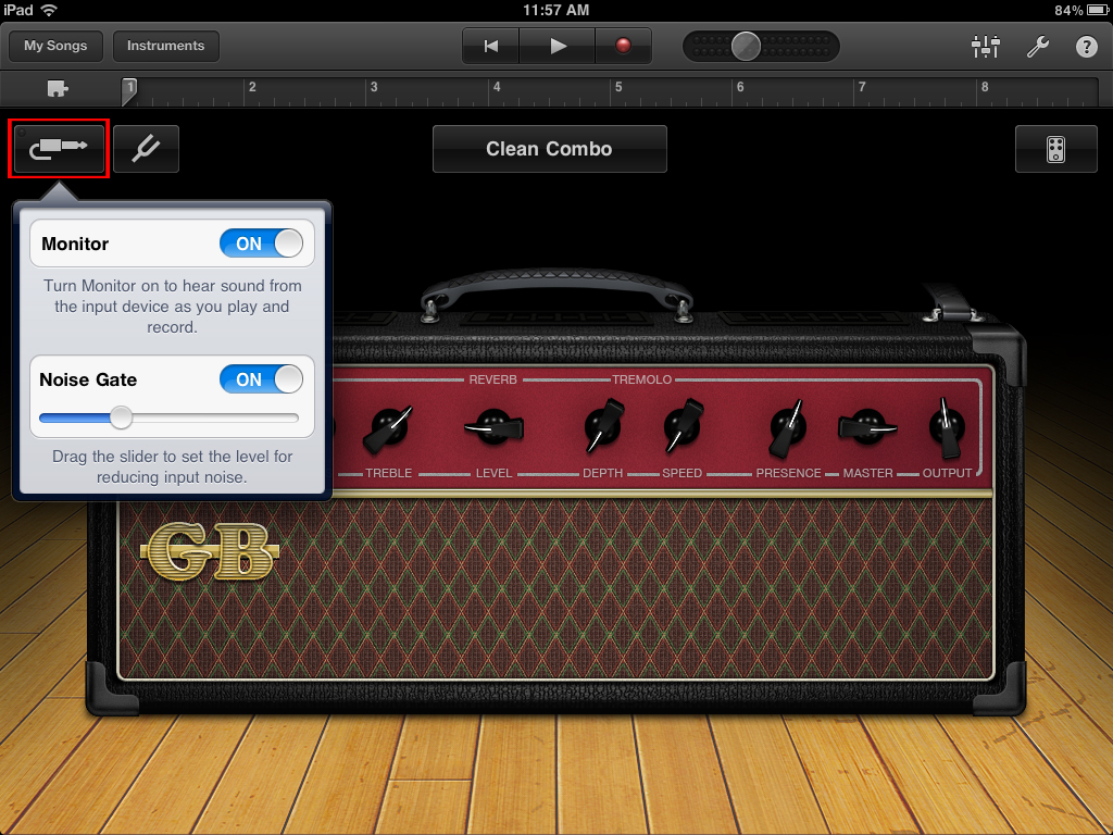 How To Use Sonic Port Vx Sonic Port With Garageband Ios App Sonic