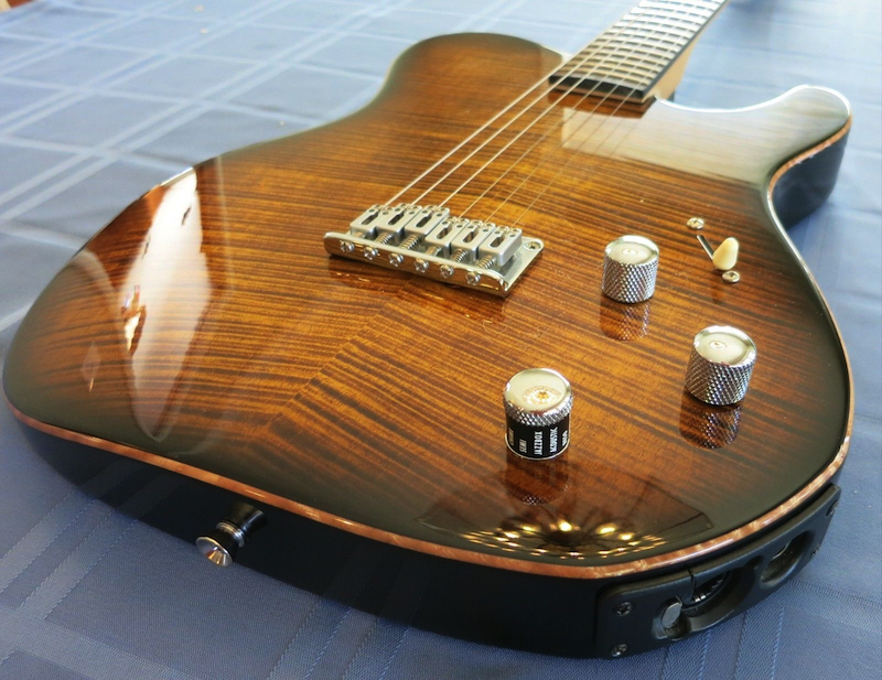 Warmoth Variax body with neck and keys - Variax Guitars