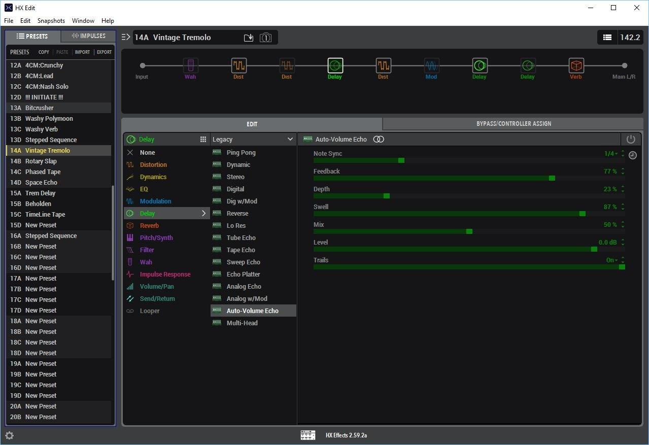 HX Edit for HX Effects - Helix - Line 6 Community
