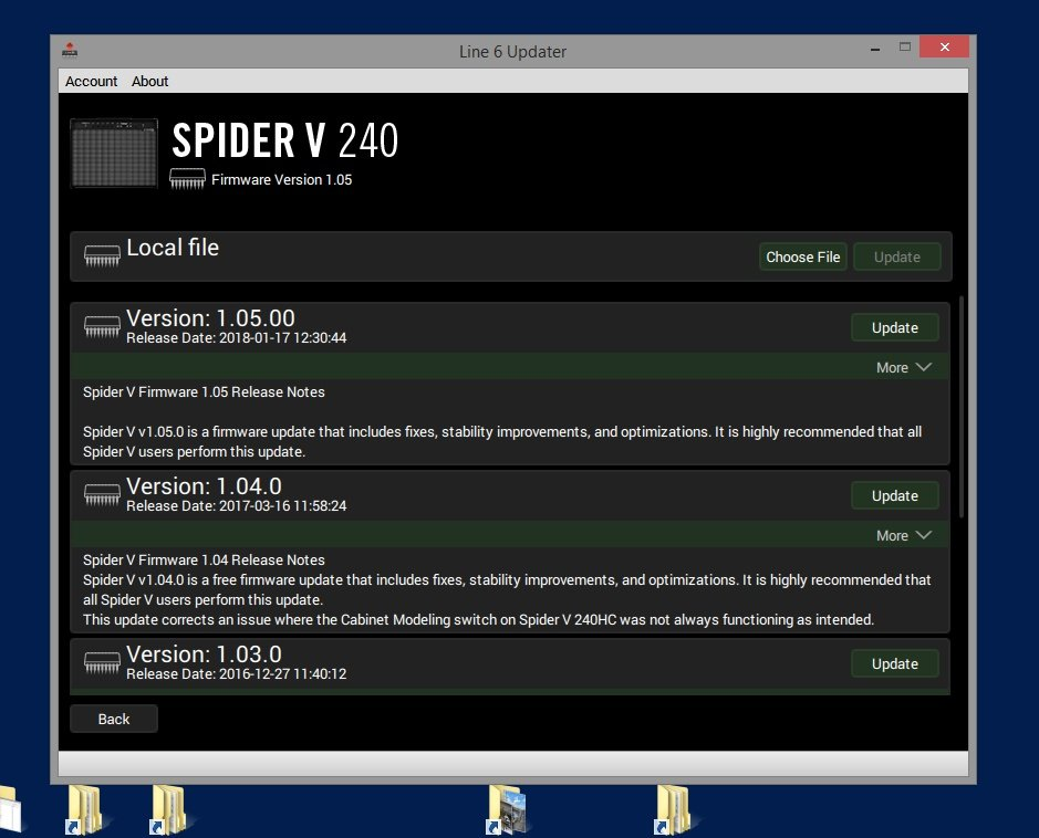 Library 3.500 Patches Line6 Spider V 20-30-60-120-240-240HC Effects Processor