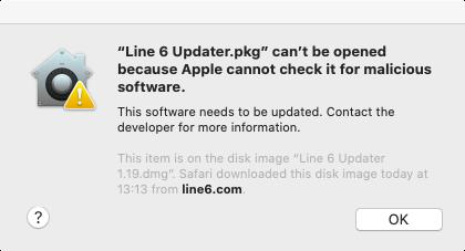 Line6 Updater 1.19 PKG error.png